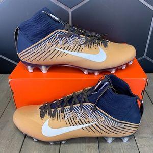 Nike Vapor Untouchable 2 PF Gold Navy Cleats